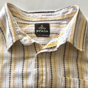 Men's Prana Short-sleeved button-down shirt